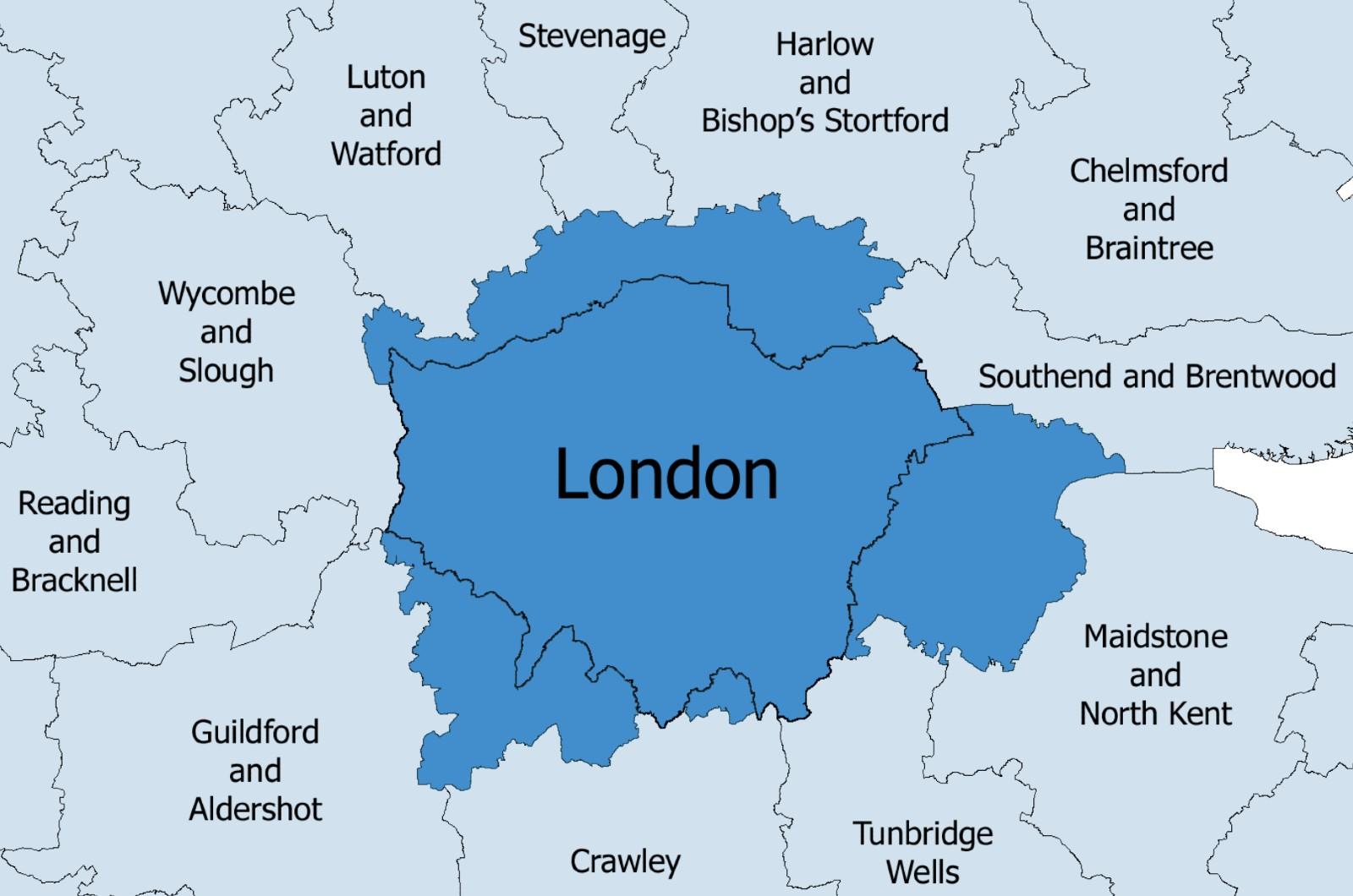 Area metropolitana di Londra